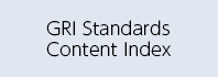 GRI Standards Content Index