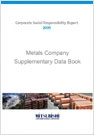 Metals Company Supplementary Data Book2009