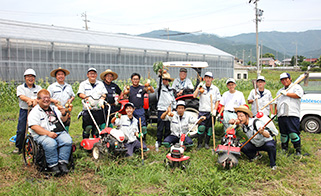 A group photo of Nabtesco Link Corporation