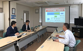 VE-based training conducted at a supplier's facility.