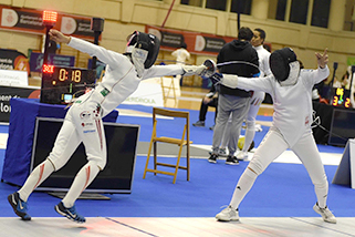 Fencing World Cup in Barcelona