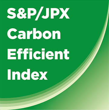 S&P/JPX Carbon efficient Index Logo