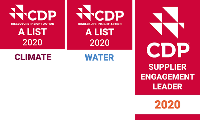 CDP Climate Change A List