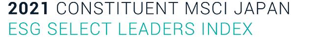 2020 CONSTITUENT MSCI JAPAN ESG SELECT LEADERS INDEX