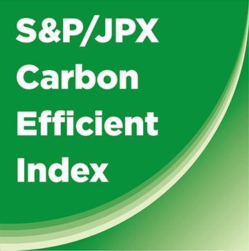 S&P/JPX Carbon efficient Index Logo