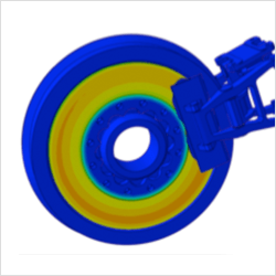 Disc brake thermal analysis (example)