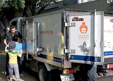 【Picture】Initiatives with Second Harvest Japan