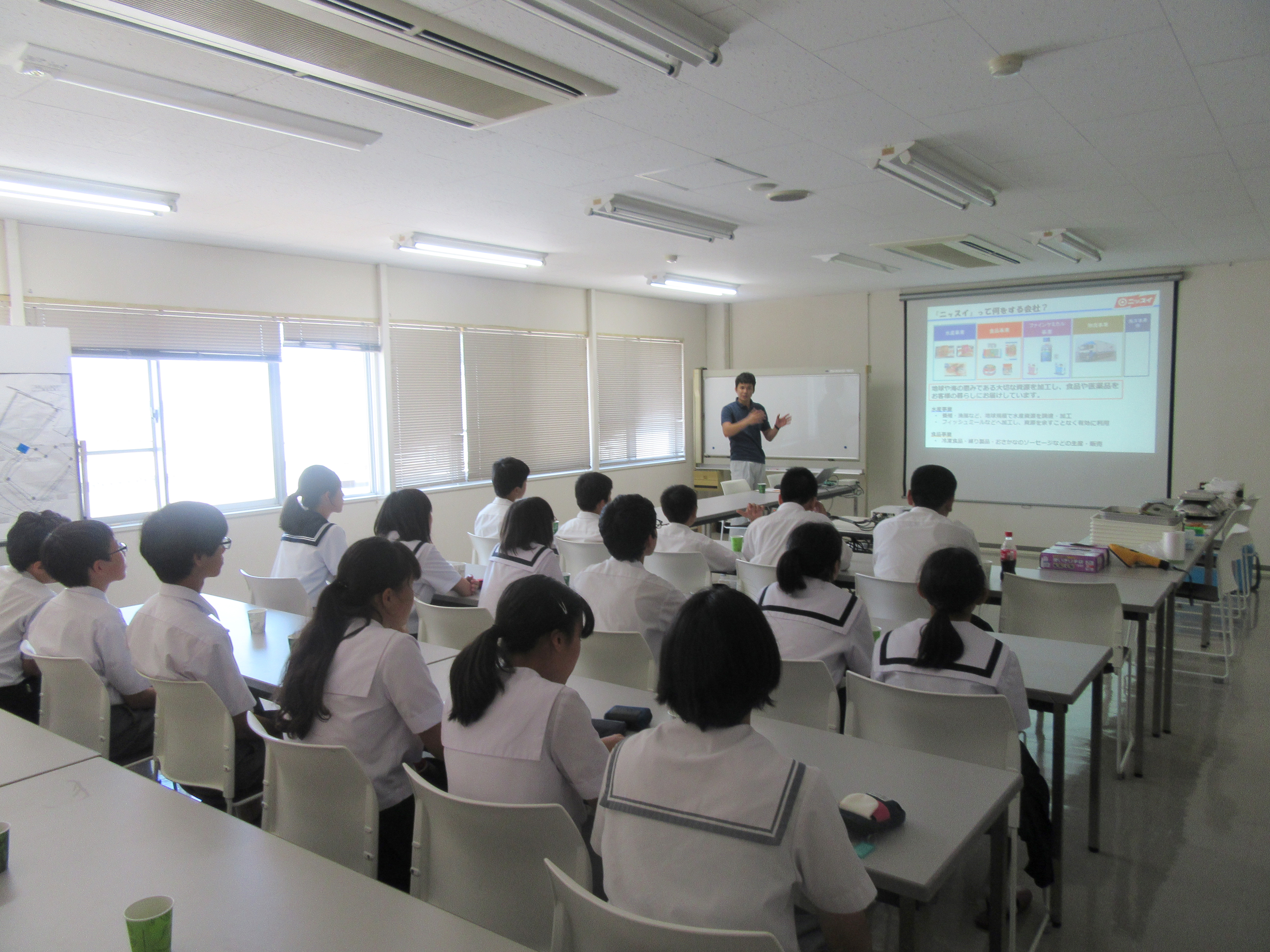 【Picture】Workplace Experience for Junior High School Students