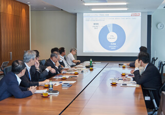 【Picture】Stakeholder dialogues