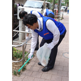 【Picture】Nissui Group Cleanup Campaign