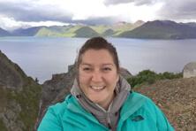 【写真】環境コンプライアンス マネージャー Emily Gibson