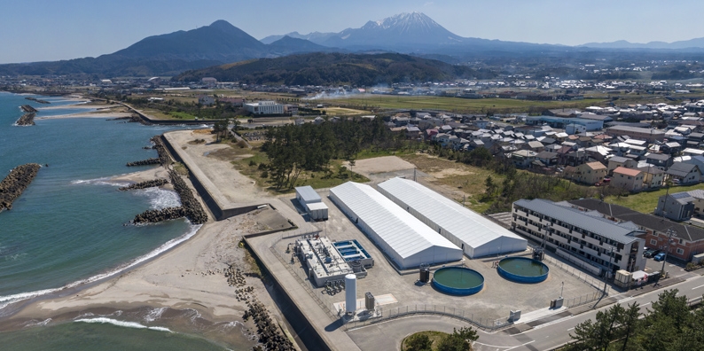 Yonago Aquaculture Center, Yumigahama Suisan Co., Ltd. (Overall view)