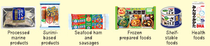 Fisheries processed products