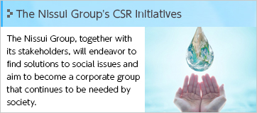 The Nissui Group's CSR Initiatives