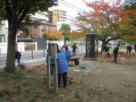 The Osaka Marathon Cleanup campaign