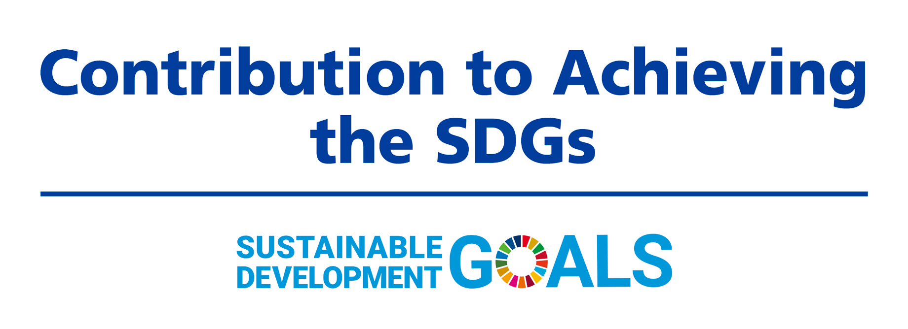 Contribution to Achieving the SDGs