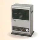 Gas fan heater