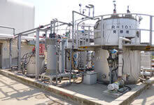 Pilot methane fermentation plant at a research institute