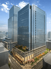 Japan's first SEN to also serve neighboring existing facilities Nihonbashi Muromachi