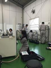 Customer-owned Gas Line Maintenance Training Center (Tsurumi)