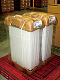 Returnable packaging (repeatedly used containers)