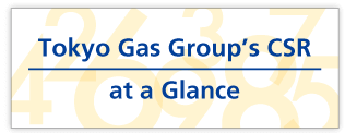 Tokyo Gas Group's CSR at a Glance