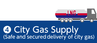 4 City Gas Supply (Safe and secured delivery of city gas)