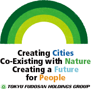 (Environmental Vision logo)Creating Cities Co-Existing with Nature Creating a Future for People