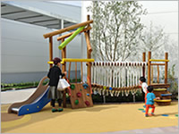 Morinomiya Q's MALL BASE playground equipment