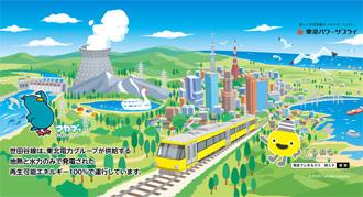 東急線全線で掲出した交通広告:2019年7月1日~8月31日
