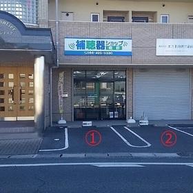 店舗前駐車場(2台)