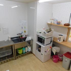 清潔なキッチン!