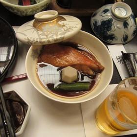 ▲名産の金目鯛の煮つけ