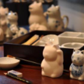2) Maneki-neko museum