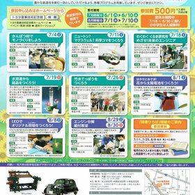 トヨタ産業技術記念館週末ワークショップ7-8月