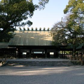 2) Atsuta Jingu (Atsuta Shrine)