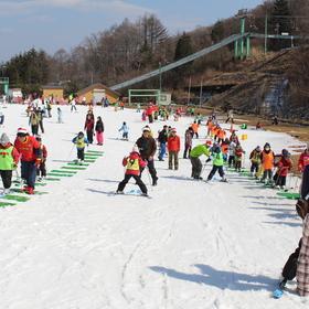 小学生初心者スキー教室