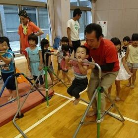 親子でサーキット遊び