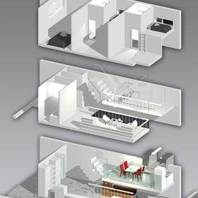 狭小住宅イメージ