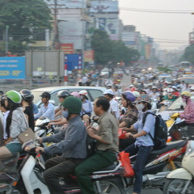 ベトナム・ハノイの風景