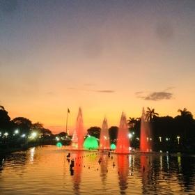 リサール公園の噴水