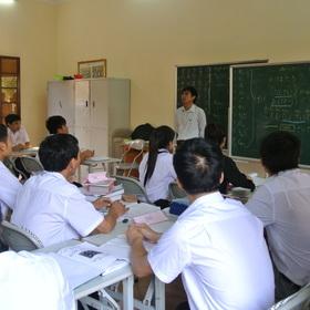 ベトナムでの講習風景