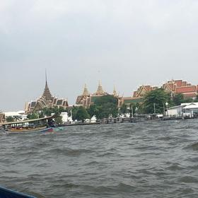 チャオプラヤー川からの景色