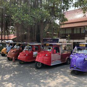 タイのタクシートゥクトゥク