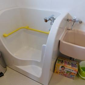 沐浴室も完備で安心!