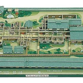 吉良家江戸屋敷(本所松坂町)模型