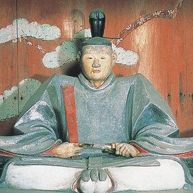 吉良上野介義央木像(華蔵寺蔵)