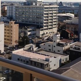 退避ビルからの眺望
