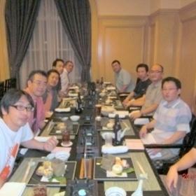 XIV琵琶湖での親睦会にて