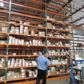 TPS倉庫部門:全ての在庫はシステムで管理されています。